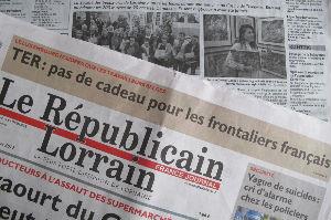 Article paru dans Le Républicain Lorrain novembre 2017 Grand Prix du Salon