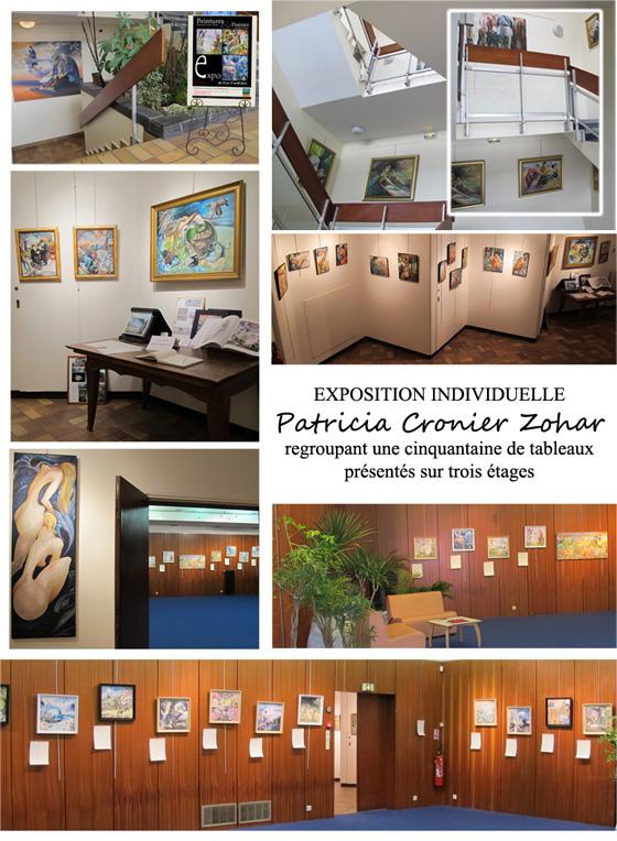 photos expo NP Artiste peintre Patricia Cronier Zohar